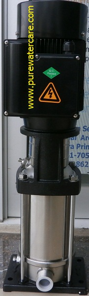 Pompa CNP Centrifugal Pump 1,5 HP CDLF2-11 Tampak Keseluruhan
