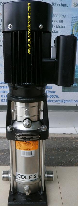 Pompa CNP Centrifugal Pump 1,5 HP CDLF2-11 Tampak Samping Kanan