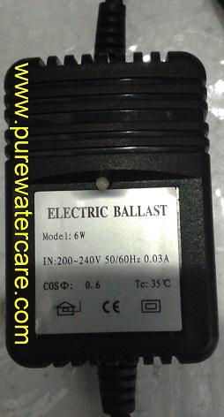 Name Plate Ultraviolet Wonderlight Cap 1 Gpm