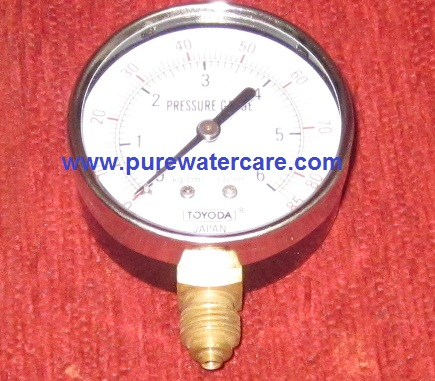 Pressure Guage Stainless