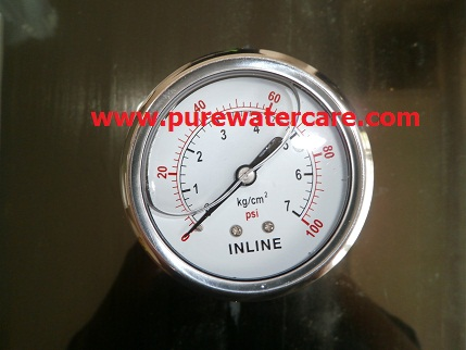 Pressure Guage Stainless 2 Inchi Tampak Display