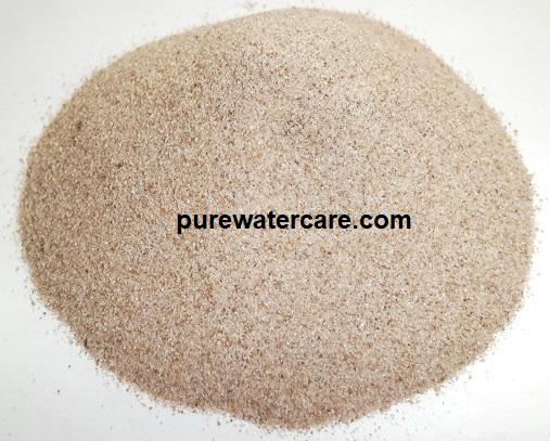 Contoh butiran pasir silika mesh 30up