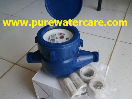 Meteran Air (Water Meter)  Tampak Samping