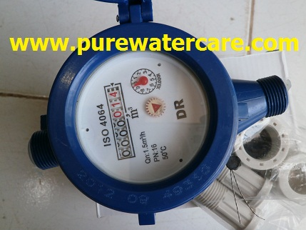 Meteran Air (Water Meter) Zoom Display